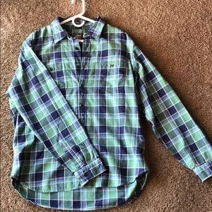 New Men's J Crew Brushed Mid-Weight Flannel